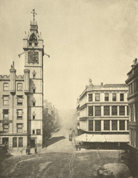 High Street From The Cross, 1868